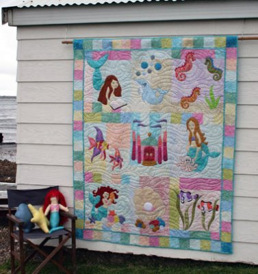Mermaid Quilt Pattern - Ask Jeeves