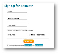 Form Contact Admin Di Blog