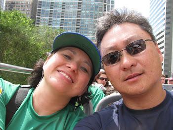 Casal Marcos e Vera Nagano