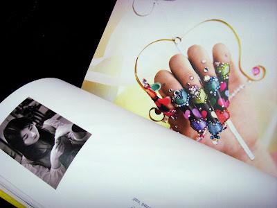 Stylish pink nail art Designs