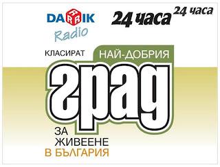 конкурс городов Болгарии