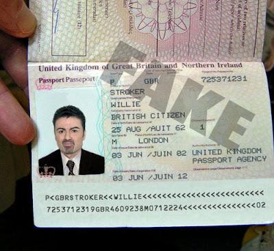 поддельный паспорт
