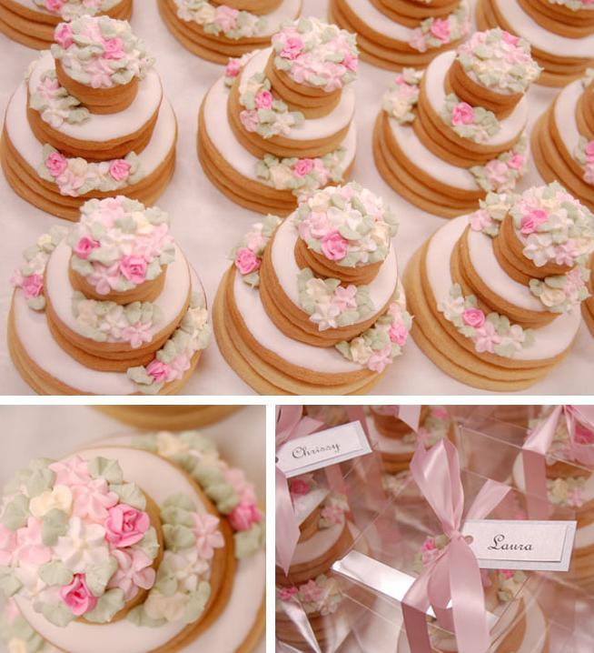 ideias de mini jardim:Chá no Jardim {Casamentos e Inspirações}: Mini Bolos de Cookies