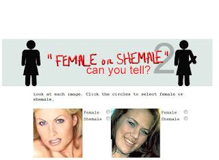 ¿Puedes diferenciar entre cual es mujer y cual es travestí?