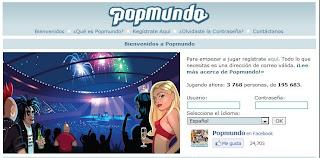 Popmundo, juego de navegador para ser estrella de Rock
