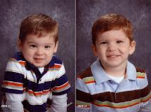 MacKay & Oscar - Preschool Pictures