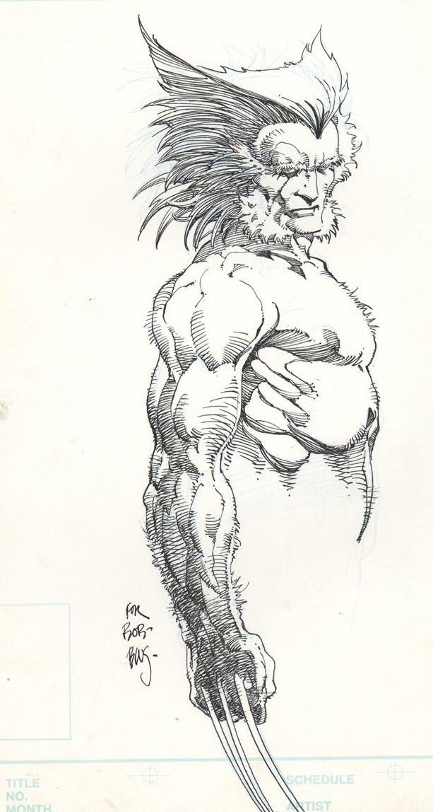 Phil and co un noble des comics - Wolverine dessin ...