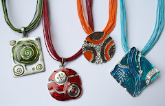 Beautiful collection of Pendants at the Myriad Life Jewellery Stall Summer 2009