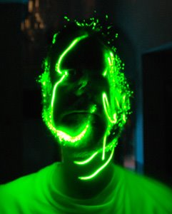 Self-Portrait with Laser