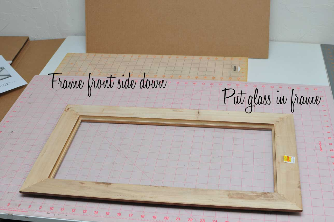 remember to add the hanger also - Diy Framing