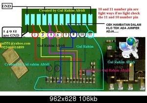 JALUR LCD 1202-1661
