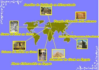 Les Sept Merveilles Du Monde Moderne Sont Une Liste Tablie Par La New Seven Wonders Foundation Consacrant Monuments XXe Sicle