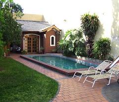 Jardín, Pileta