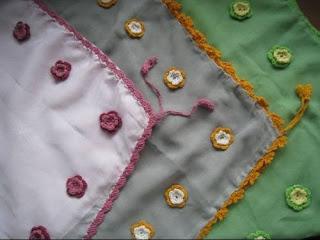 Sulam Benang Arieen: Contoh Motiff Jilbab 6