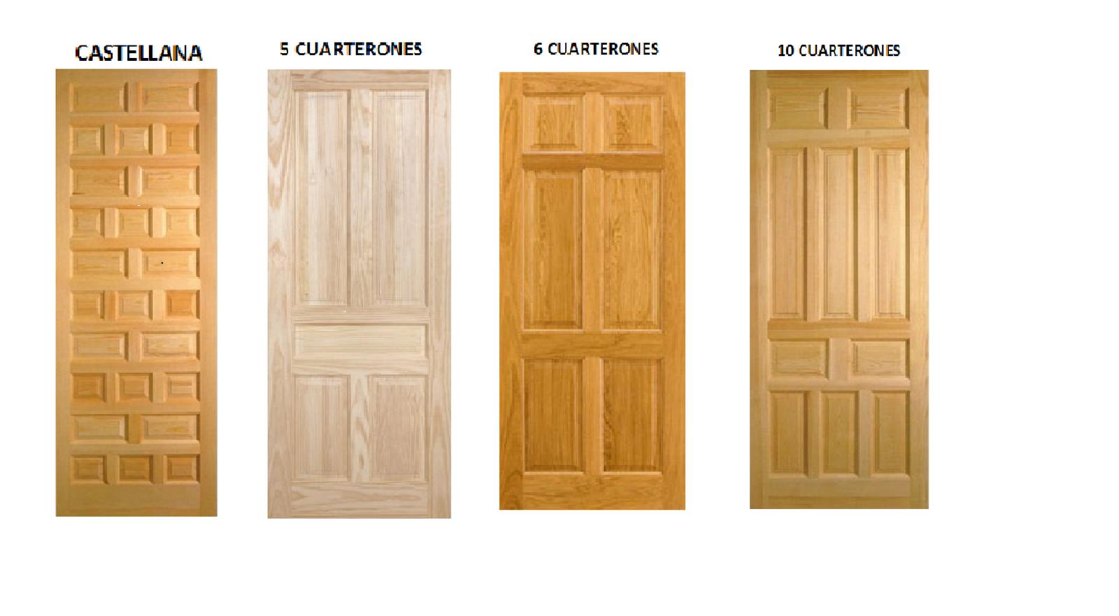 Puertas de exterior e interior puertas macizas en madera for Madera de puertas