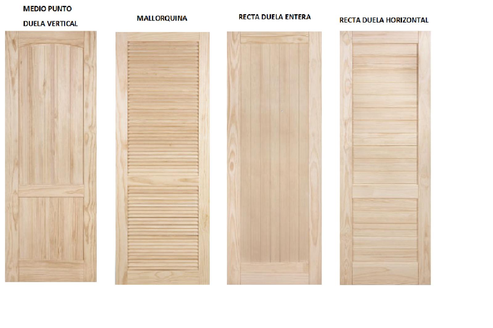 puertas de exterior e interior puertas macizas en madera