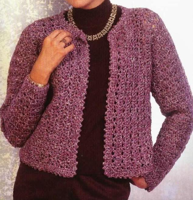Las' Cardigans Crochet Patterns - Planet Purl