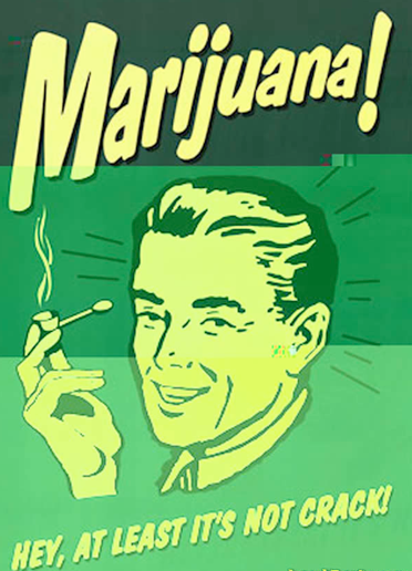 Where is the proof that marijuana is bad for you?