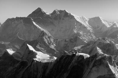 Sagarmatha (8848m) en Lhotse (8516m)