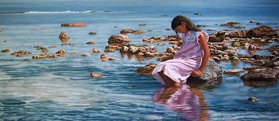 paisaje-marino-con-figura-humana-al-óleo