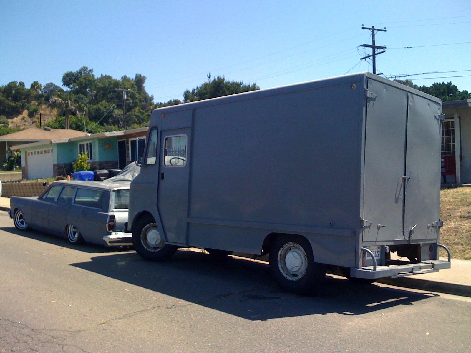 Rat, San Diego, Van, Wagon