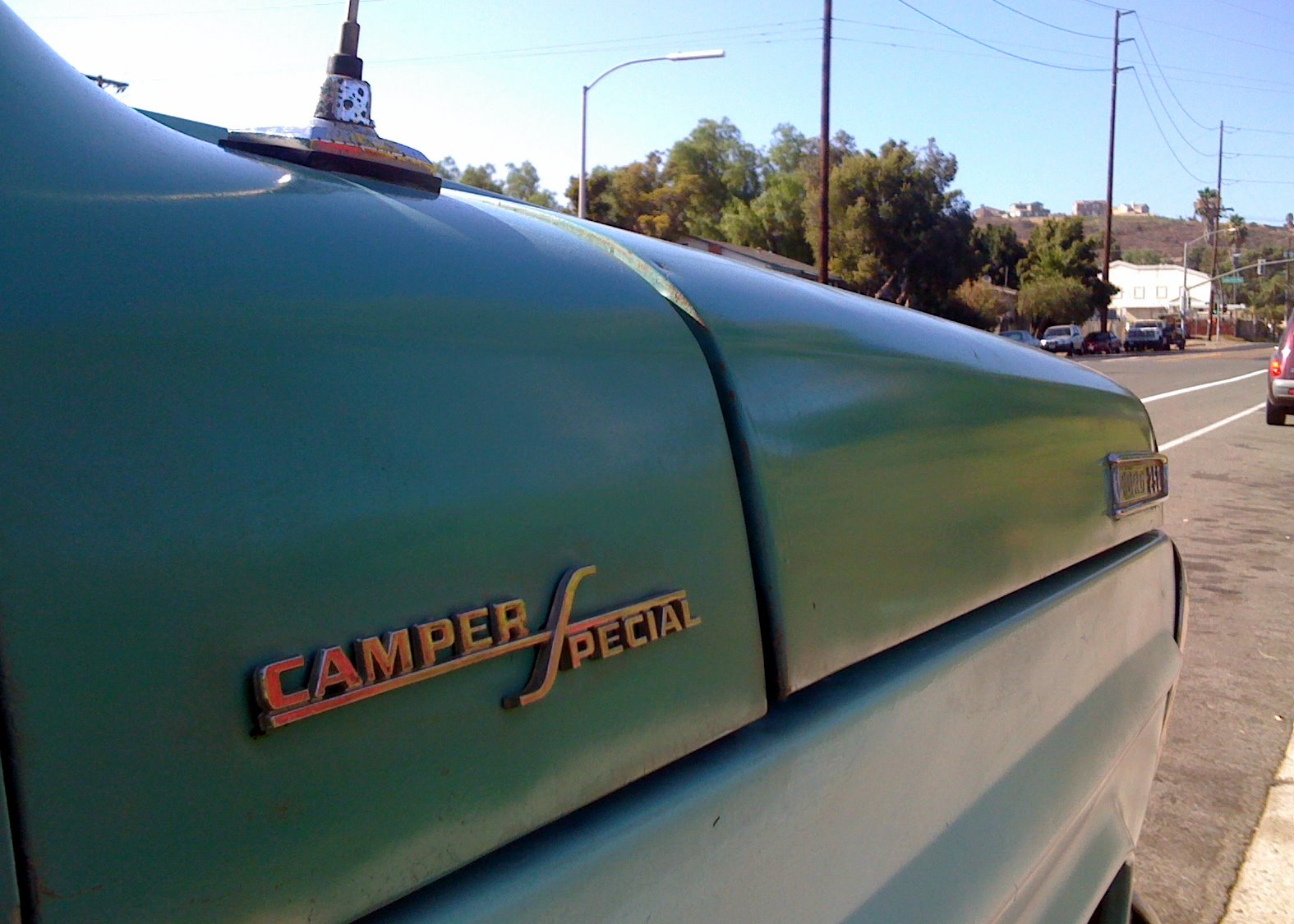 The Street Peep 1967 Ford F250 Camper Special 1964