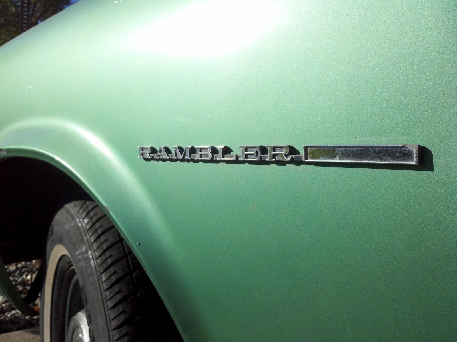 1969 Nash Rambler American