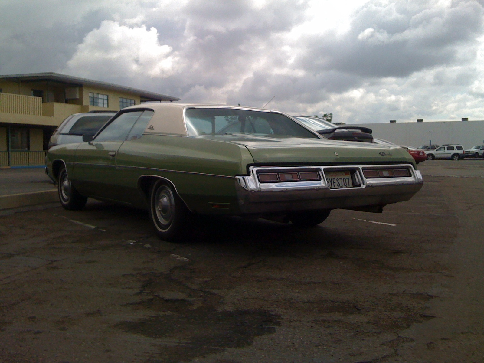 THE STREET PEEP: 1972 Chevrolet Impala Custom Coupe