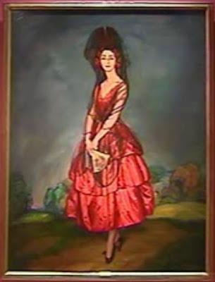 La mantilla española 25.-+Retrato+de+Rosario+de+Silva+Gurtubay+Duquesa+de+Alba,+Ignacio+Zuloaga,+1921
