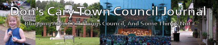 Don's Cary Town Council Journal