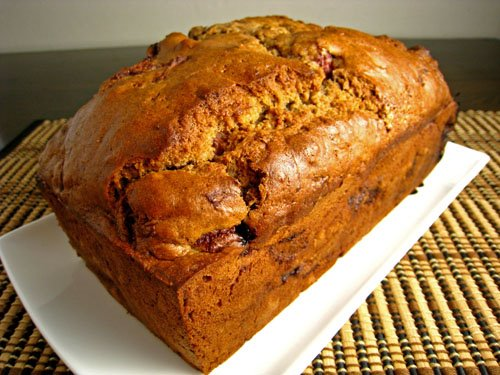 Strawberry Sour Cream Bread