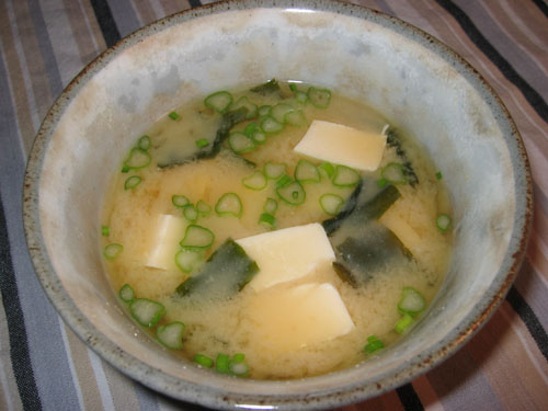 tofu and wakame miso soup is another good miso soup it seems that many ...