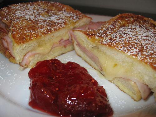 Monte cristo sandwich fillings?