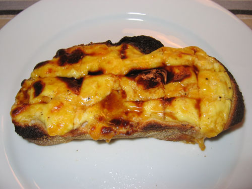 ... welsh rarebit welsh rabbit is yummy welsh rarebit 2 slices welsh