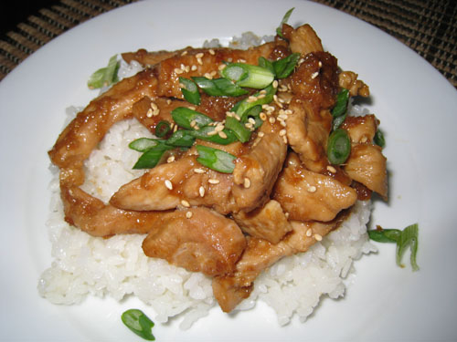 Ginger Pork