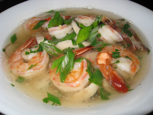 Tom Yum Goong Soup