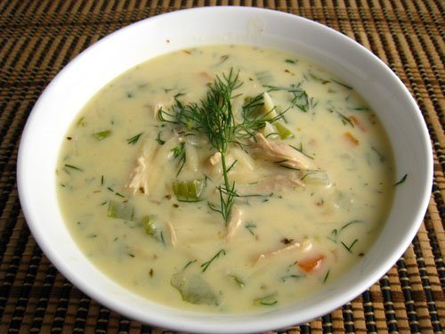 Avgolemono Soup