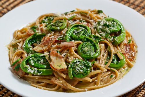 Fiddlehead Carbonara