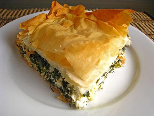 Spanakopita (Greek Spinach Pie) on Closet Cooking