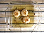 Roasted Garlic Oil: After