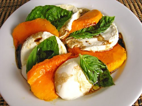 Mango Caprese Salad on Closet Cooking