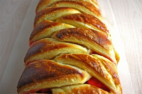 Strawberry Danish Braid