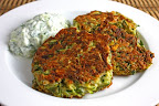 Greek Style Zucchini Fritters