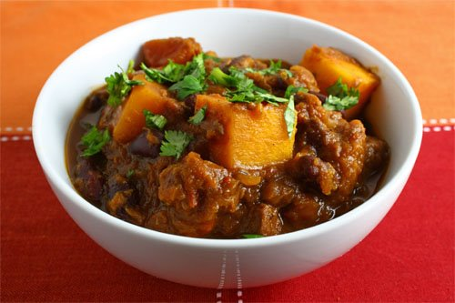 Squash Chili Mole