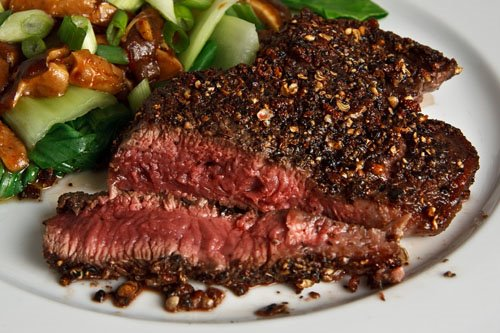 Sichuan Peppercorn Tenderloin Steak on Closet Cooking