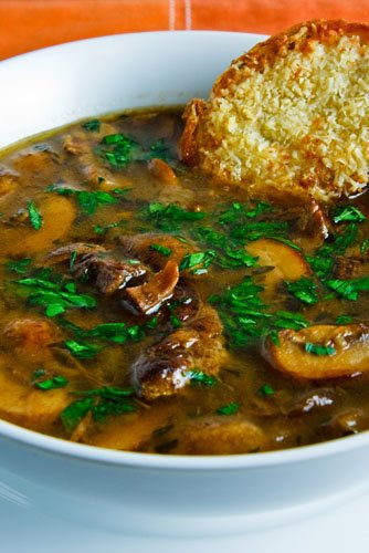 Pot Roast Mushroom Soup