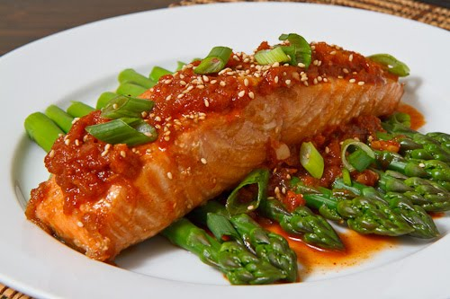 Salmon Bulgogi