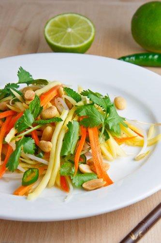 Cat fish sauce mango. Style green. Papaya, mango recipe. Tuk has a ...