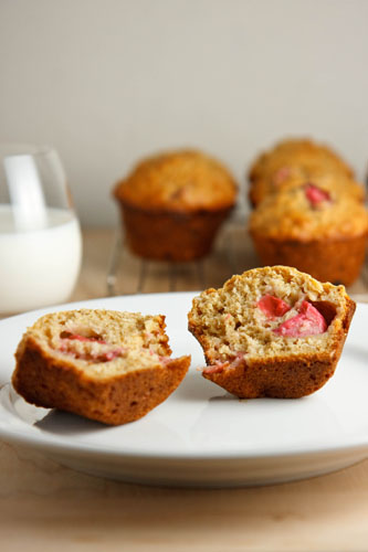 Rhubarb Muffins
