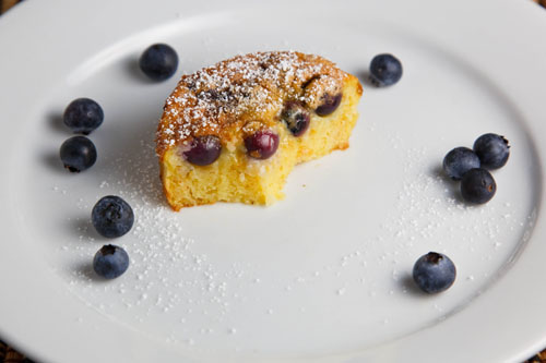 Blueberry Clafoutis